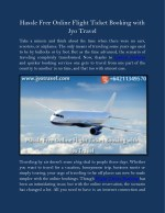 Hassle Free Online Flight Ticket Booking with Jyo Travel
