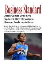 Asian Games 2018 Live Updates on Day 11 of India today's events at 18th Asian Games 2018