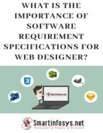 A List of Significance of Software Requirement Specifications for Web Designer.