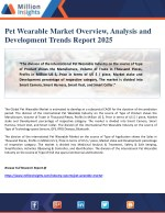 Pet Wearable Market Overview, Analysis and Development Trends Report 2025