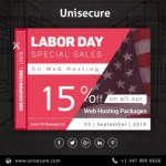 Unisecure - Labor Day Special Big Hosting Business Sales in USA