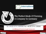 The Perfect Mode Of Forming A Company In Germany