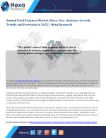 Global Animal Feed Enzymes Industry Research Report - Market Analysis and Forecast to 2022