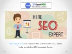 What Not to Be expecting From Your Freelance SEO Expert