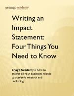 Writing an Impact Statement_ Four Things You Need to Know - Enago Academy