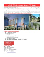 MMR 52nd Avenue Sector 52 Noida