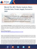 Bicycle Tire (BC) Market Analysis, Share and Size, Trends, Industry Growth And Segment Forecasts To 2025