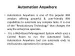 Automation Anywhere Training in Chennai