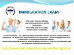 Form i-693 medical exam
