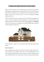 8 Things Every Realtor Must Do for Home Sellers