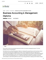 Business Accounting & Management Diploma - istusy