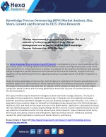 Knowledge Process Outsourcing (KPO) Market Size, Application Analysis and Regional Outlook Report