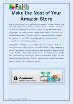 Make the Most of Your Amazon Store