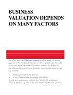 Business Valuation Companies in India | Business valuation method consultant