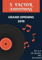 X Factor Auditions 2019 PDF Details