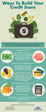 Ways To Build Your Credit Score