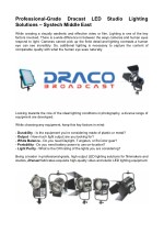 Studio Lighting - DRACO BROADCAST, Quartzcolor | Systech Middle East