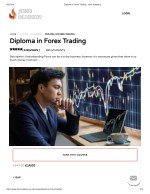 Diploma in Forex Trading - john Academy