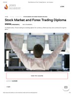 Stock Market and Forex Trading Diploma
