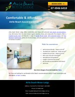 Comfortable & Affordable Airlie Beach Accommodation