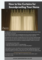 How to Use Curtains for Soundproofing Your Home