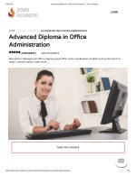 Advanced Diploma in Office Administration - john Academy