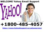 Yahoo Customer Service 1800-485-4057 For Yahoo Support