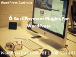 6 Best Payment Plugins For WordPress