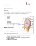 Joint Replacement in Pune| Knee Surgery | Dr Anshu Sachdev