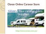 Buy online Caravan Accessories & Parts @ lowest price