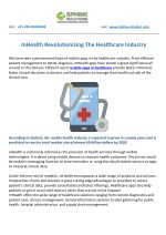mHealth Revolutionizing The Healthcare Industry