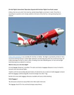 Air Asia Flights International Operations Expand with Amritsar Flights from Kuala Lumpur