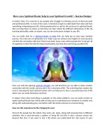 How can a Spiritual Healer help in your Spiritual Growth? - Karma Healper