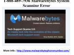 1-888-489-7936 Malwarebytes Tech Support