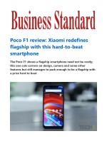 Poco F1 review: Xiaomi redefines flagship with this hard-to-beat smartphone