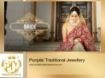 Punjabi Wedding Jewellery