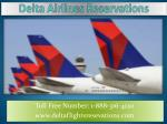 Delta Airlines Reservations Phone Number | Customer Care | Official Site