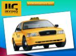 Irving Interstate Taxi