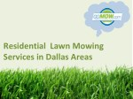 Are you looking for Lawn cutting service in Texas?