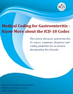 Medical Coding for Gastroenteritis - Know More about the ICD-10 Codes