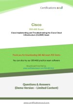 300-460 Cisco CCNP Cloud Exam Questions And Answers