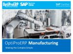 Implementing Inventory Management Best Practices | OptiProERP
