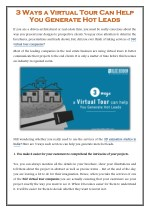3 Ways a 360 Virtual Tour Can Help You Generate Hot Leads