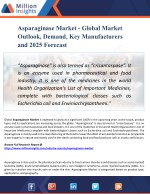 Asparaginase Market 2025 - Global Market Growth, Trends, Share and Demands Research Report
