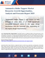 Automotive Roller Tappets Market Region, Production, Consumption, Revenue, Market Share and Growth Rate to 2025