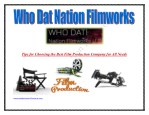 Television Film Production New Orleans Texas