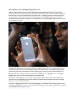 Future Iphones to Use an In-Display Fingerprint Scanner