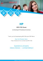 HP0-Y50 Questions PDF - Secret to Pass HP HP0-Y50 Exam [You Need to Read This First]