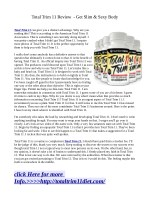 Total Trim 11:-loose extra weight faster