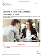 Diploma in Sales and Marketing - John Academy